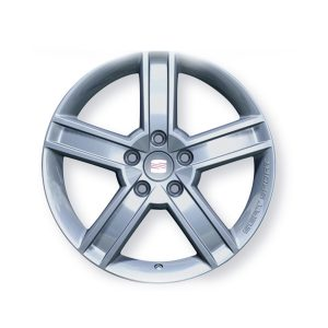 "SEAT 17"" Alloy Wheel 1P0071490"