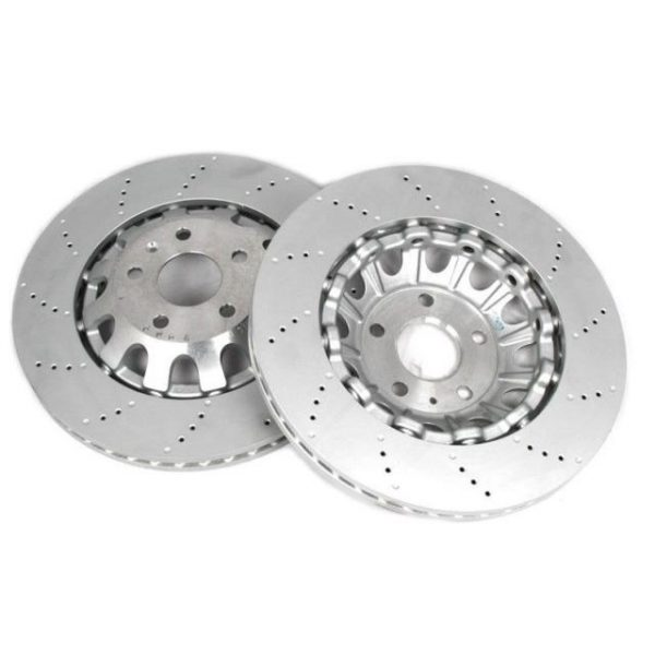 SEAT Leon Cupra R Punched Front Brake Discs 370x32 8J0615301K